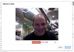 Google+ permet la mise à jour de statuts en vidéo