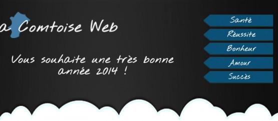 Bonne année 2014 - La Comtoise Web
