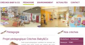 Crèches inter entreprise Baby & Co