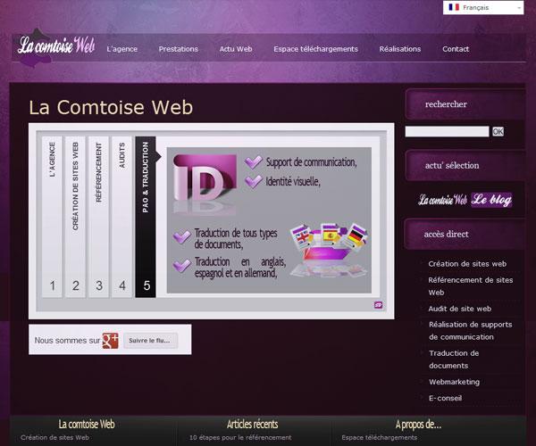La Comtoise Web