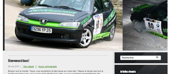 Rallye Peugeot 306 Yannick Fierobe & Virginie Ruel